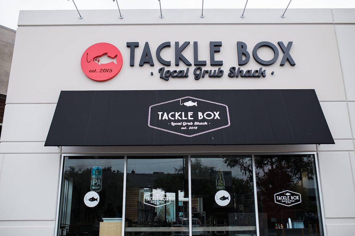 I Heart Costa Mesa: Tackle Box Restaurant at SOCO and The OC Mix in Costa Mesa, Orange County, California.