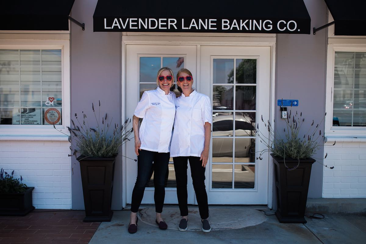Thank you, Christine Bren and Sarah Butler, of Lavender Lane Baking Co. for sharing your story with I Heart Costa Mesa! (photo: Brandy Young)