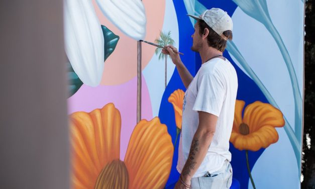 Wall Flowers: Aaron Glasson's Costa Mesa Bloom